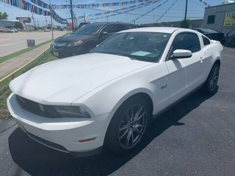 2012 Ford Mustang for sale at Rock Motors LLC in Victoria TX