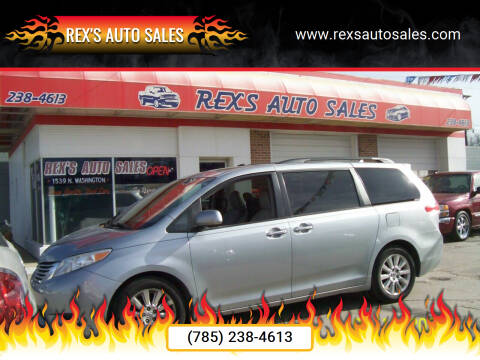 2011 Toyota Sienna for sale at Rex's Auto Sales in Junction City KS