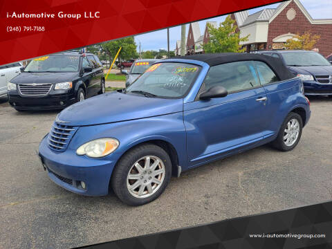 2007 Chrysler PT Cruiser for sale at i-Automotive Group LLC in Waterford MI