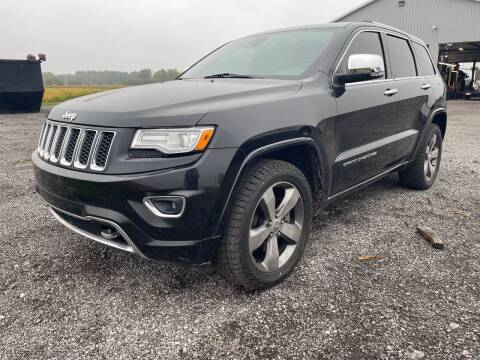 2015 Jeep Grand Cherokee for sale at Ada Truck Sales in Ada OH