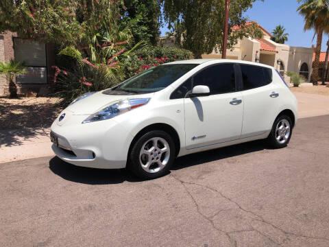 2012 Nissan LEAF for sale at Arizona Hybrid Cars in Scottsdale AZ