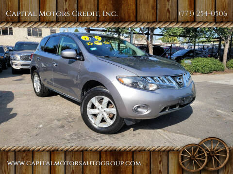 2009 Nissan Murano for sale at Capital Motors Credit, Inc. in Chicago IL