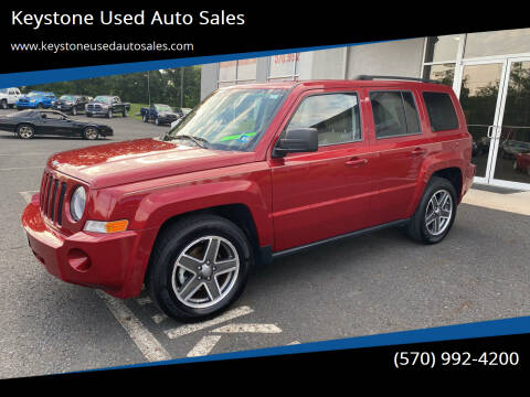 2010 Jeep Patriot for sale at Keystone Used Auto Sales in Brodheadsville PA