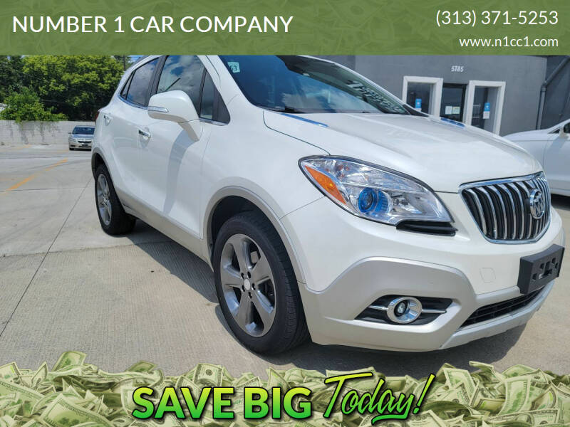 2014 Buick Encore for sale at NUMBER 1 CAR COMPANY in Detroit MI