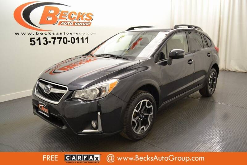 2016 Subaru Crosstrek for sale at Becks Auto Group in Mason OH