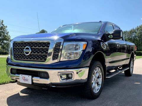2016 Nissan Titan XD for sale at Rivera Auto Group in Spring TX