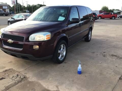 2007 Chevrolet Uplander for sale at 4 B CAR CORNER in Anadarko OK