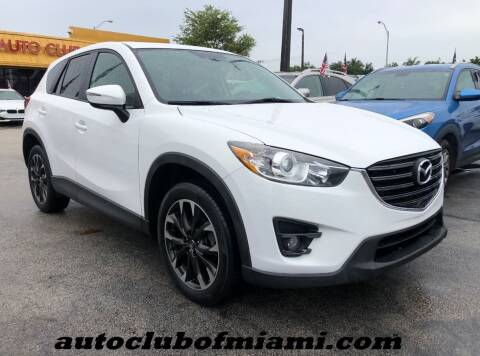 2016 Mazda CX-5 for sale at AUTO CLUB OF MIAMI in Miami FL