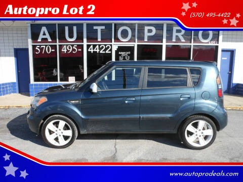2010 Kia Soul for sale at Autopro Lot 2 in Sunbury PA