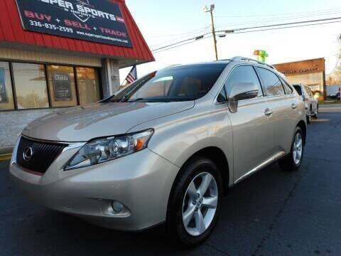 2011 Lexus RX 350 for sale at Super Sports & Imports in Jonesville NC