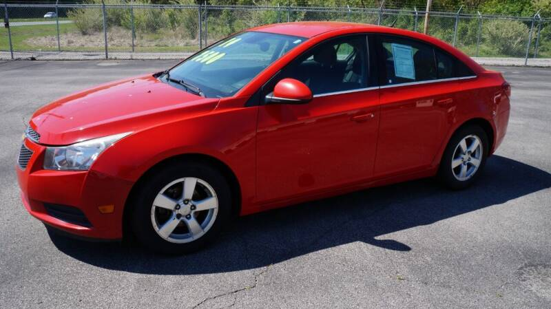 2014 Chevrolet Cruze for sale at G & R Auto Sales in Charlestown IN