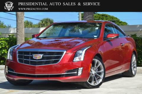 2015 Cadillac ATS for sale at Presidential Auto  Sales & Service in Delray Beach FL