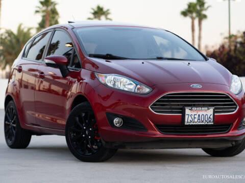 2014 Ford Fiesta for sale at Euro Auto Sales in Santa Clara CA