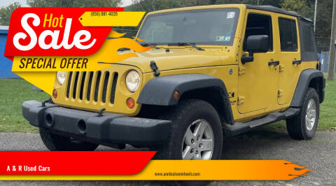 2008 Jeep Wrangler Unlimited for sale at A & R Used Cars in Clayton NJ