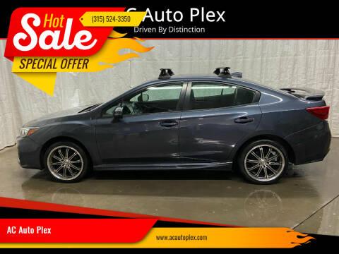 2017 Subaru Impreza for sale at AC Auto Plex in Ontario NY