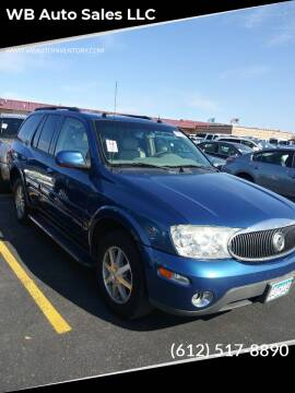 2005 Buick Rainier for sale at WB Auto Sales LLC in Barnum MN