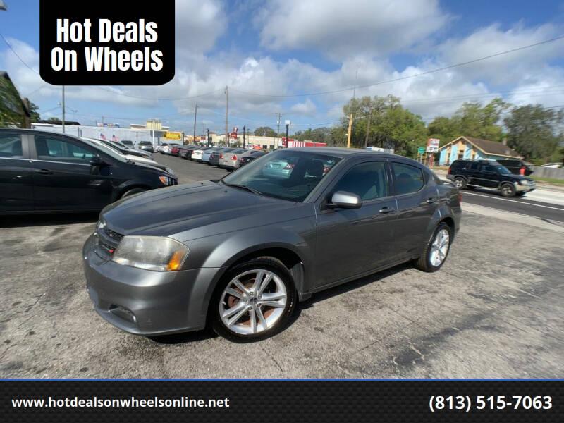 2013 Dodge Avenger for sale at Hot Deals On Wheels in Tampa FL