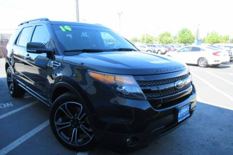2014 Ford Explorer for sale at Choice Auto & Truck in Sacramento CA