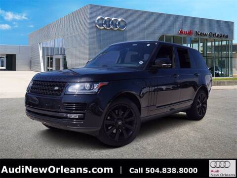 2015 Land Rover Range Rover for sale at Metairie Preowned Superstore in Metairie LA