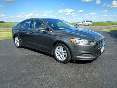 2016 Ford Fusion for sale at McClain Auto Mall in Rochelle IL