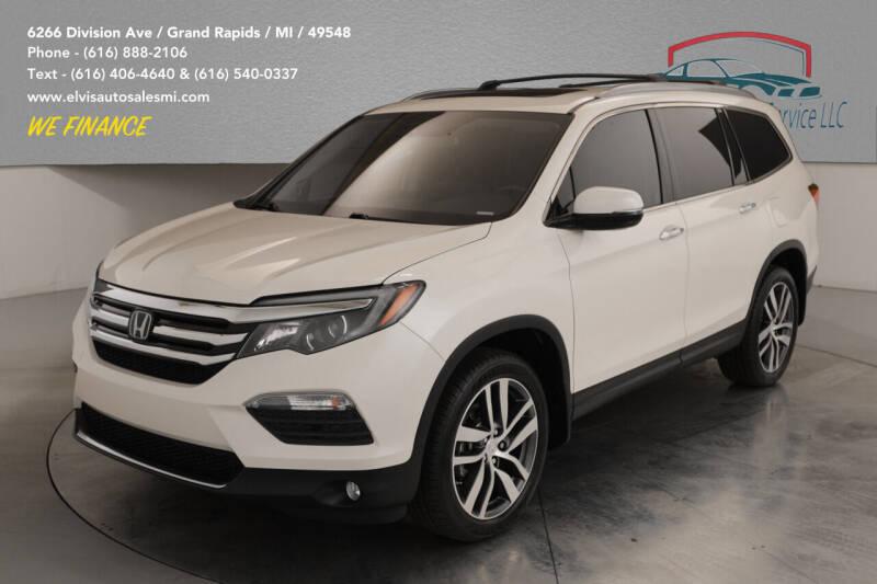 2017 Honda Pilot for sale at Elvis Auto Sales LLC in Grand Rapids MI