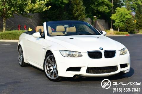 2011 BMW M3 for sale at Galaxy Autosport in Sacramento CA