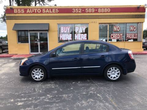 2010 Nissan Sentra for sale at BSS AUTO SALES INC in Eustis FL