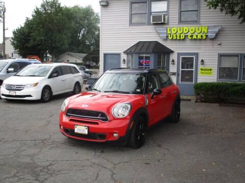 2012 MINI Cooper Countryman for sale at Loudoun Used Cars in Leesburg VA