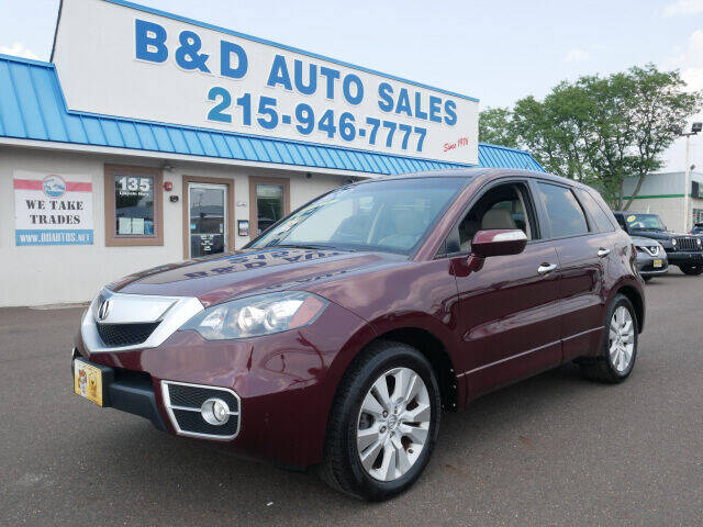 2010 Acura RDX for sale at B & D Auto Sales Inc. in Fairless Hills PA