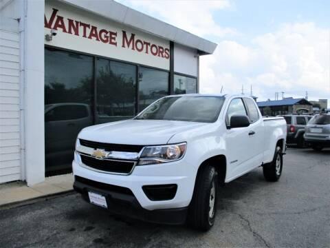 2018 Chevrolet Colorado for sale at Vantage Motors LLC in Raytown MO