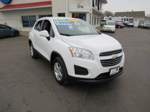 2016 Chevrolet Trax for sale at Auto Land Inc in Crest Hill IL