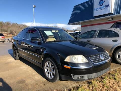 2003 Volkswagen Passat for sale at CarUnder10k in Dayton TN