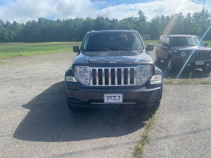 2011 Jeep Liberty for sale at DOW'S AUTO SALES in Palmyra ME