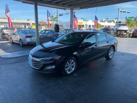 2020 Chevrolet Malibu for sale at American Auto Sales in Hialeah FL