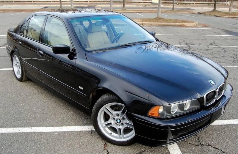 2001 BMW 5 Series for sale at Bimmer Sales LTD in Great Falls VA