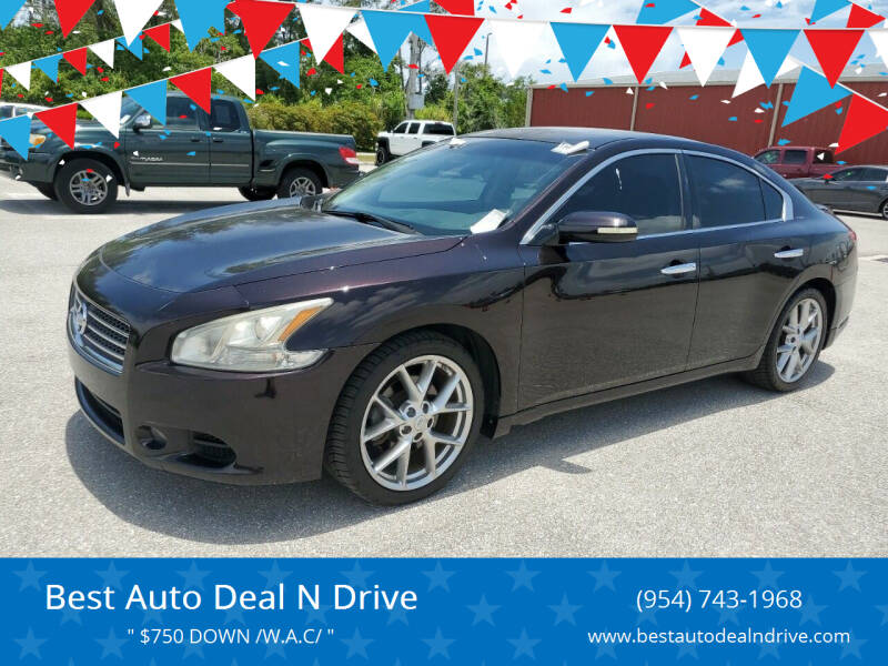 2010 Nissan Maxima for sale at Best Auto Deal N Drive in Hollywood FL