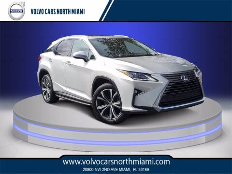 2017 Lexus RX 350 for sale at Volvo Cars North Miami in Miami FL