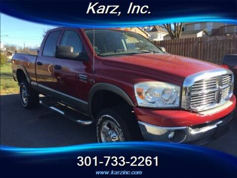 2009 Dodge Ram Pickup 2500 for sale at Karz INC in Funkstown MD