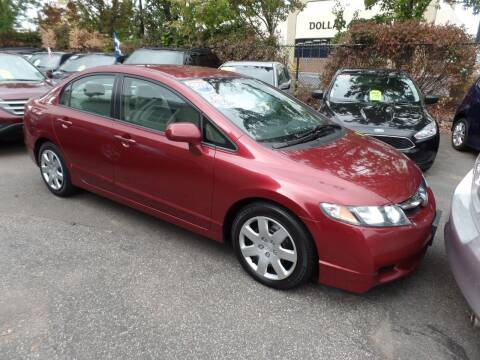 2010 Honda Civic for sale at CAR CORNER RETAIL SALES in Manchester CT