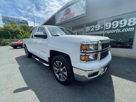 2015 Chevrolet Silverado 1500 for sale at NO LIMIT MOTORSPORTS in Belmont NC