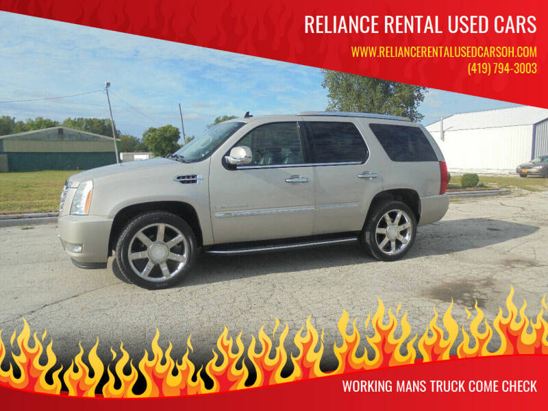 2008 Cadillac Escalade for sale at Reliance Rental Used Cars in Maumee OH