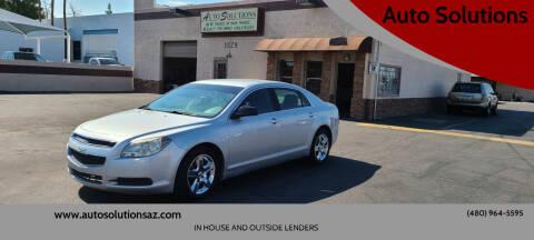 2011 Chevrolet Malibu for sale at Auto Solutions in Mesa AZ