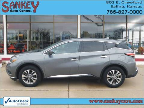 2018 Nissan Murano for sale at Sankey Auto Center, Inc in Salina KS
