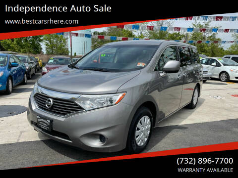 2011 Nissan Quest for sale at Independence Auto Sale in Bordentown NJ