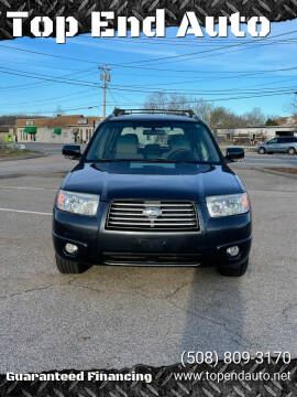 2008 Subaru Forester for sale at Top End Auto in North Atteboro MA