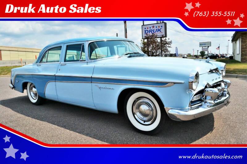 1955 Desoto Firedome for sale at Druk Auto Sales in Ramsey MN