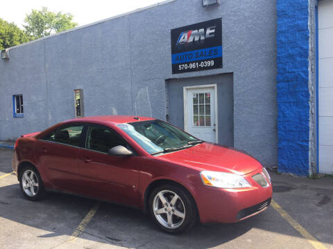 2009 Pontiac G6 for sale at AME Auto in Scranton PA