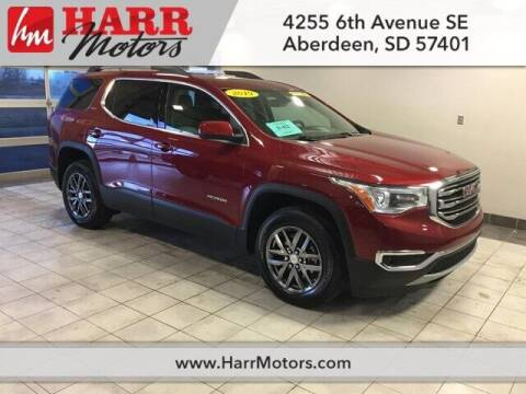 2019 GMC Acadia for sale at Harr Motors Bargain Center in Aberdeen SD