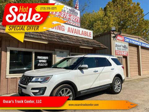 2016 Ford Explorer for sale at Oscar's Truck Center, LLC in Houston TX