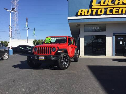 2019 Jeep Wrangler Unlimited for sale at Lucas Auto Center in South Gate CA